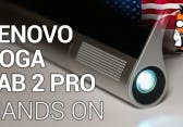 Lenovo Yoga Tablet 2 Pro mit dem Pico-Projektor – Hands-On [English]