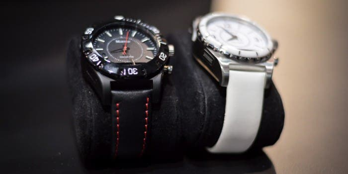 "Martian Smartwatch ""Eyes On"" auf der CES"