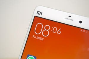 Display Xiaomi Mi Note Ecke