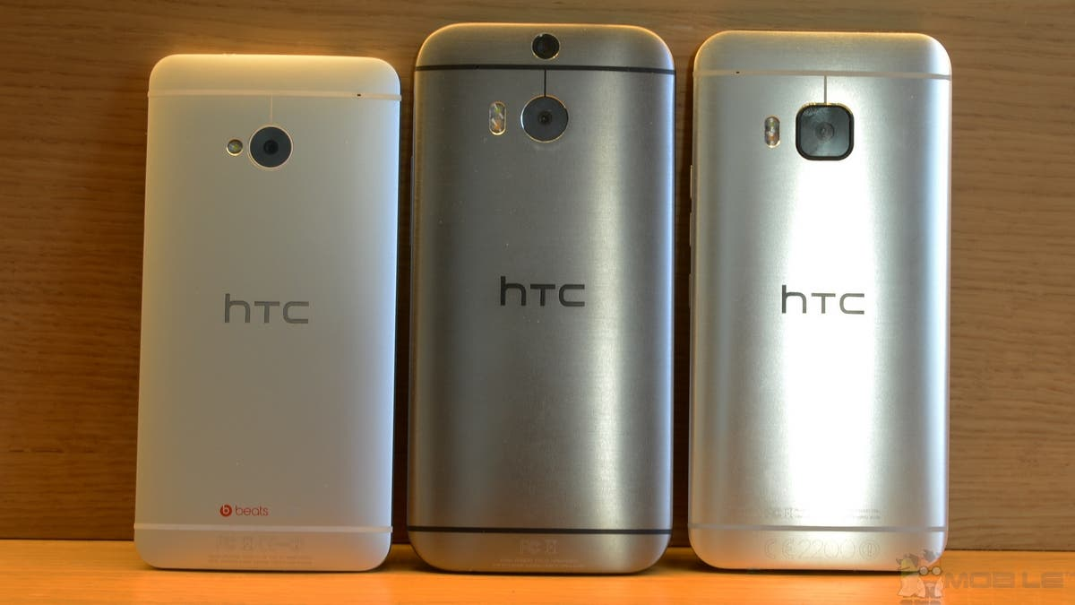 HTC One M7 vs One M8 vs One M9 2