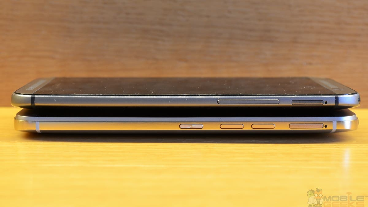 HTC One M8 vs One M9