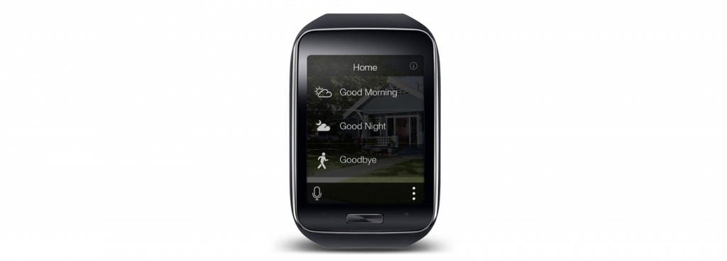 SmartThings-App auf Samsung Gear S