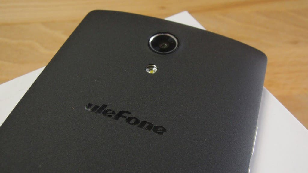 UleFone Be Pro Rückseite in Sandstone Black