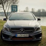 Frontansicht 2015 Mercedes-Benz CLA 250 4MATIC Shooting Brake OrangeArt Edition
