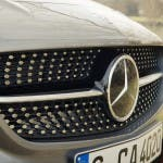 Diamond-Grill des 2015 Mercedes-Benz CLA 250 4MATIC Shooting Brake OrangeArt Edition