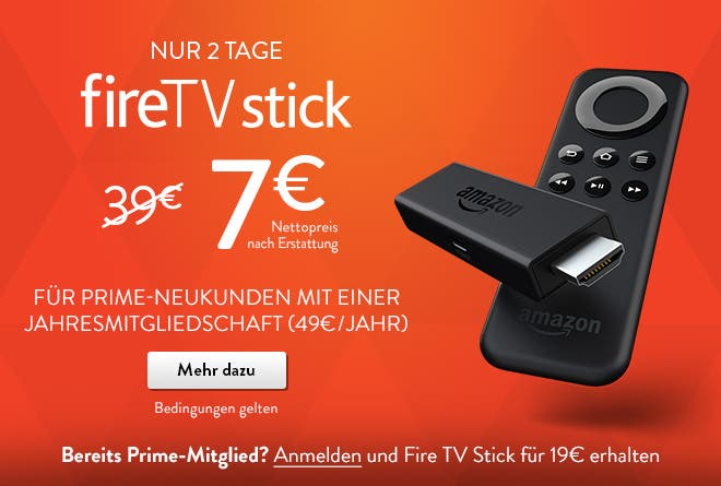 Amazon Fire TV Stick Promo