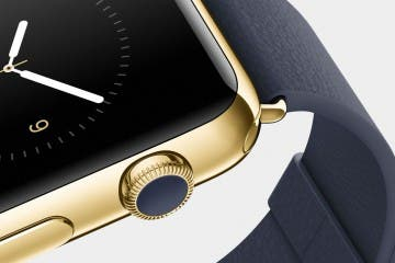 Apple Watch Edition - Blick auf die Crown