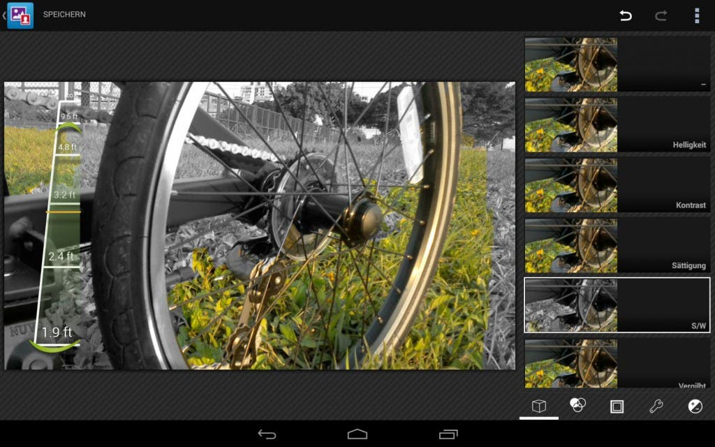 Dell Venue 8 7000 Screenshot Galerie 3D Bearbeitung