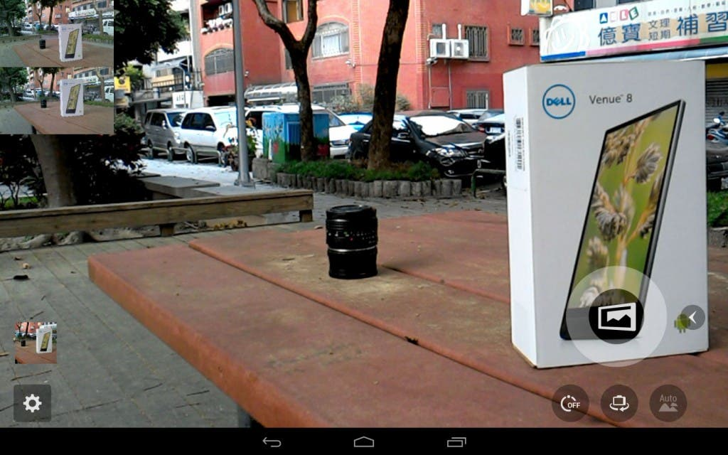 Dell Venue 8 7000 Screenshot Kamera App