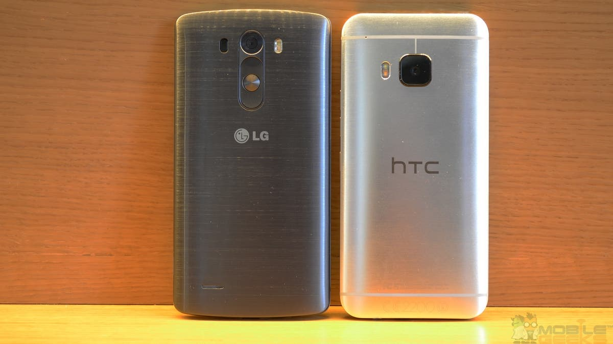 HTC One M9 vs LG G3 b