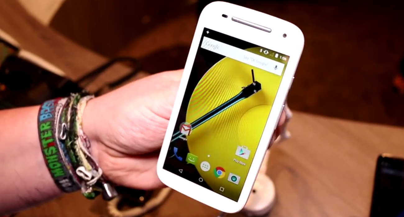 Motorola Moto e Hands on