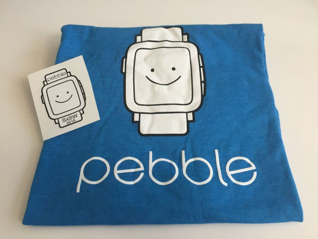 Pebble SXSW T-Shirt