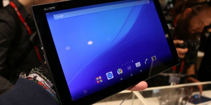 Sony Xperia Z4 Tablet erster Eindruck