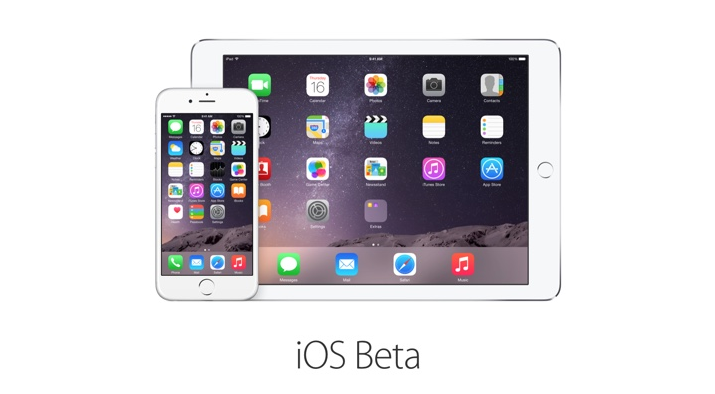 iOS Beta mit iPhone 6 und iPad Air