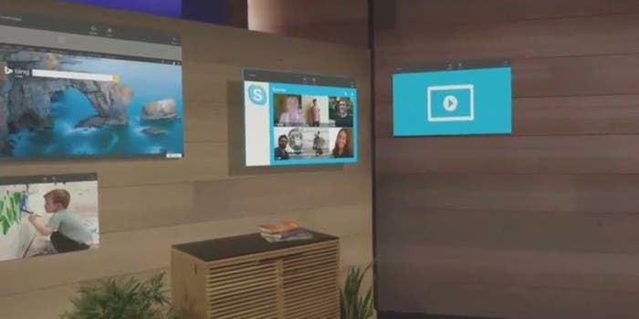 Build 2015: HoloLens und Windows Holographic Demo