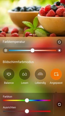 ASUS Zenfone 2 Screenshot Displayeinstellungen2