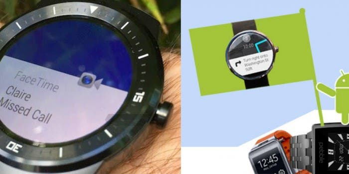 Android Wear iOS Titel