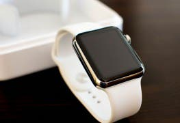 Apple Watch vor der Box