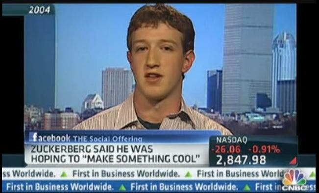 Facebook: Mark Zuckerberg im CNBC-Interview von 2004
