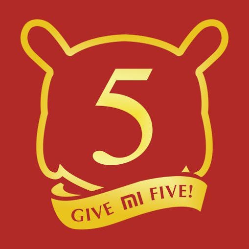 Xiaomi - give me five-Logo