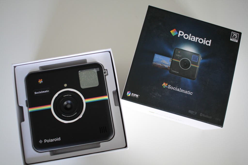 Polaroid Socialmatic Unboxing