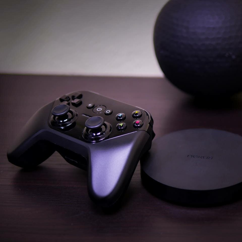 Nexus Player + Controller
