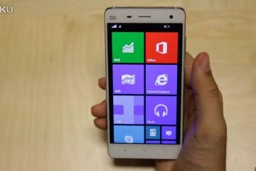 Windows 10 auf dem Xiaomi Mi4