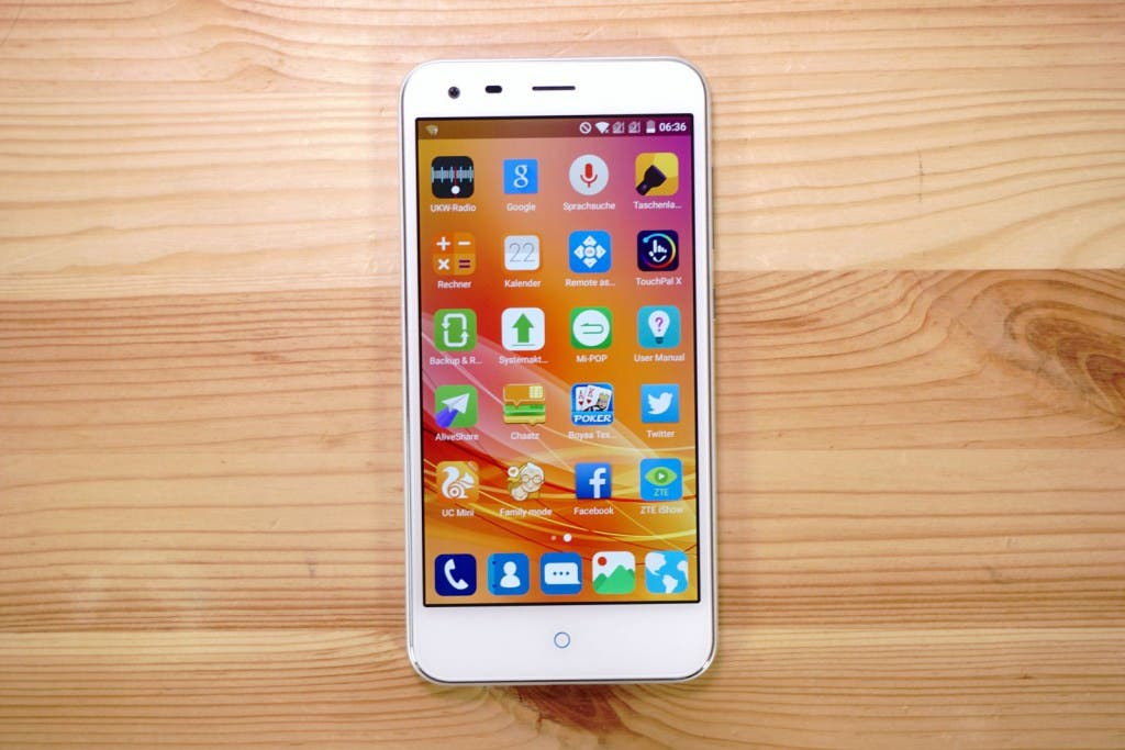 ZTE Blade S6 Plus Display