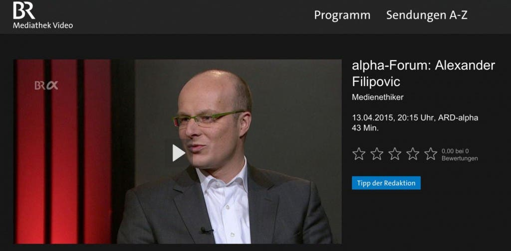 alpha-Forum__Alexander_Filipovic_vom_13_04_2015__Medienethiker___BR_Mediathek_VIDEO