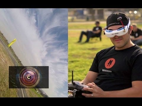 Multicopter-Racing im 3D-Parcours