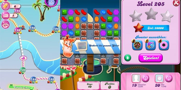 Candy Crush Saga Screenshots Windows Phone