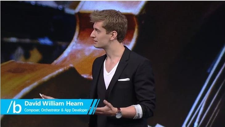 David William Hearn auf der Build 2015