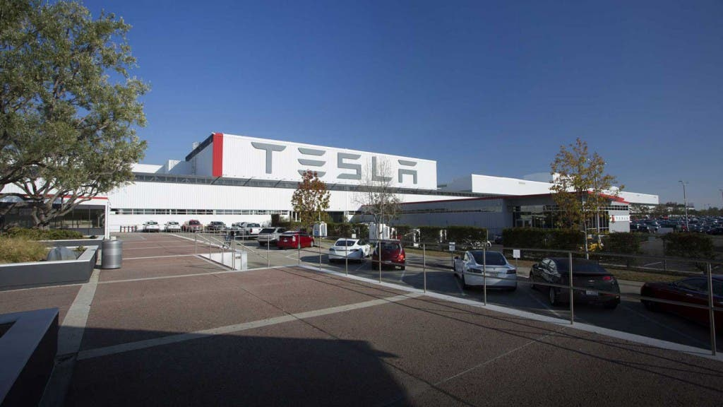 Tesla Fabrik in den USA