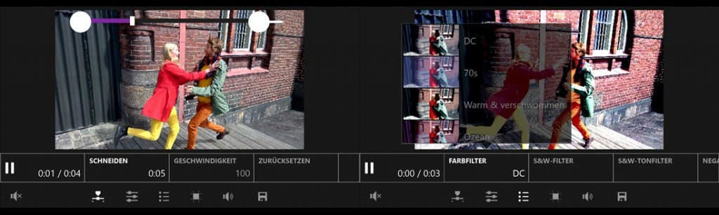 Screenshots von Video Tuner für Windows Phone
