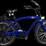 """Wave eBike"" in blau."