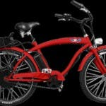 """Wave eBike"" in rot."