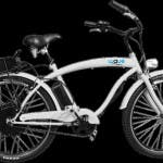 """Wave eBike"" in silber."