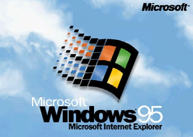 Windows 95-Logo
