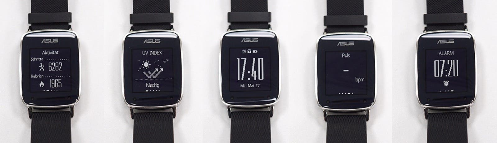ASUS Vivowatch homescreens