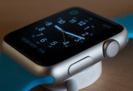 Apple Watch blaues Armband Watchface