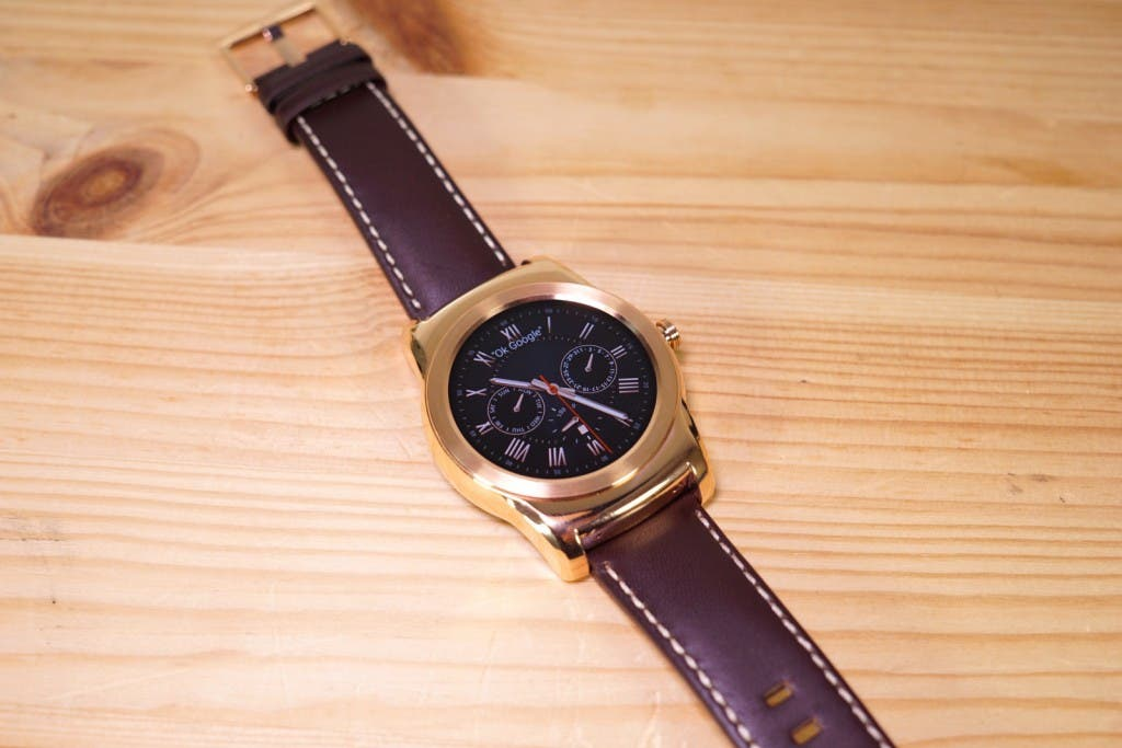 LG Watch Urbane Display