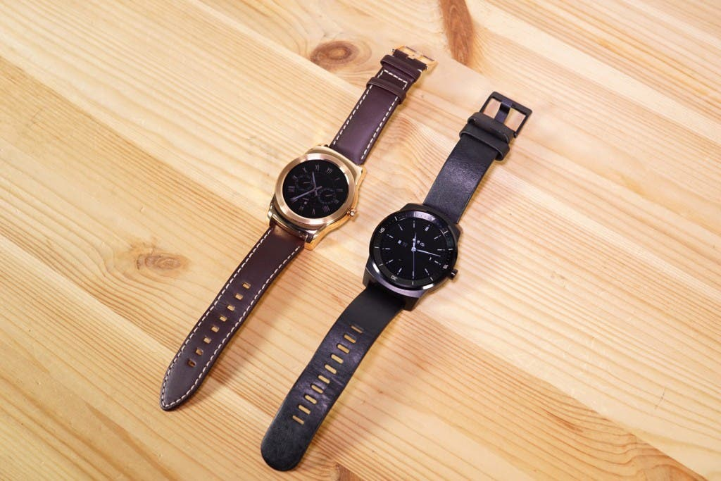 LG Watch Urbane vs LG G Watch R Vergleich