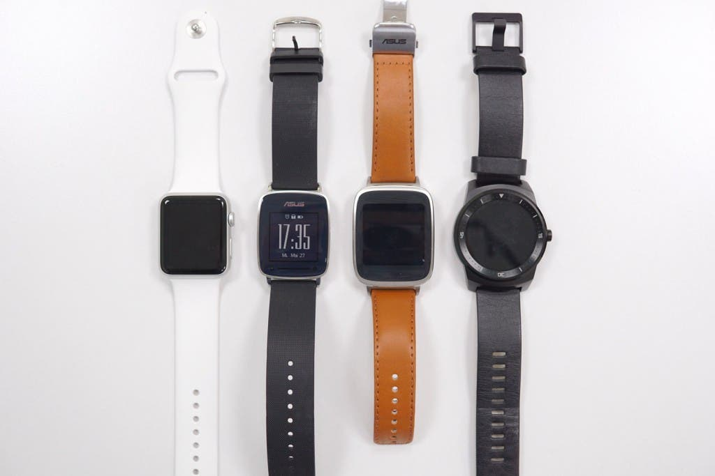 VivoWatch Apple Watch Zenwatch G Watch R von vorne