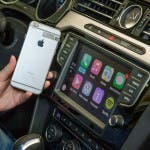 Apple CarPlay funktioniert mit der neuen Generation des Infotainment-Systems Discover Pro im VW Passat GTE.