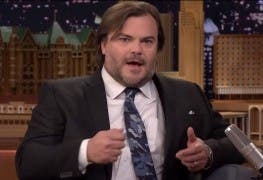 Jack Black in der Tonight Show