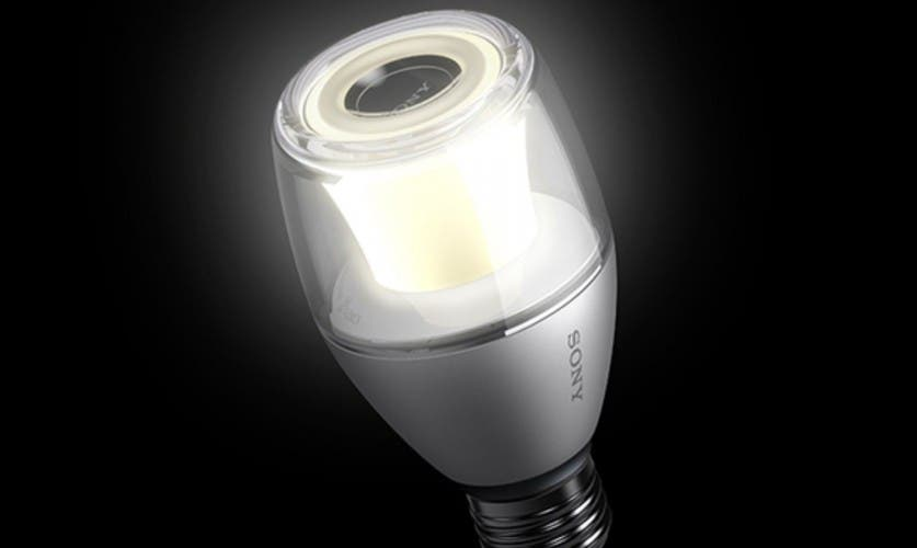 LED Light Bulb Speaker von Sony.