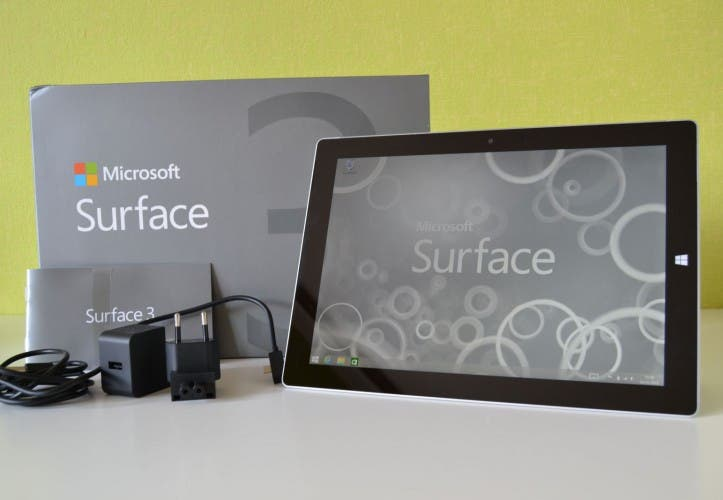 Microsoft Surface 3 Unboxing