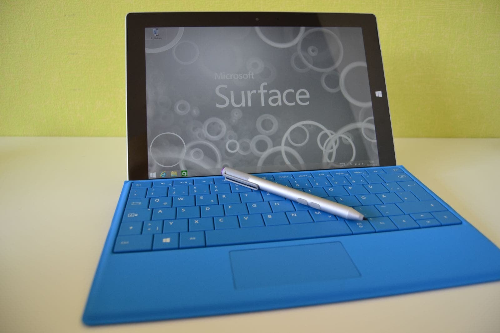 Ready to work - Microsoft Surface 3