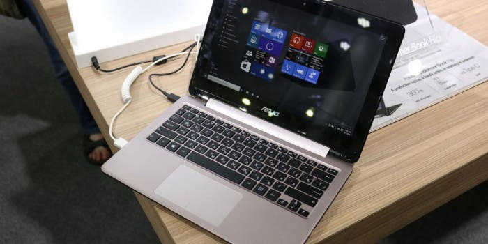 ASUS Transformer Book Flip TP200 im Kurztest