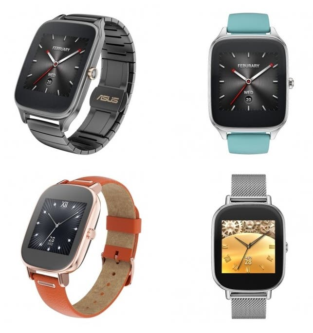 ASUS ZenWatch 2 - 4 Models